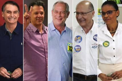 Boca de urna, Bolsonaro lidera; Haddad aparece em segundo