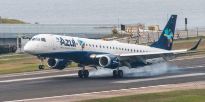 Azul tem alta de 18,4% na demanda de voos; oferta cresce 16,9%