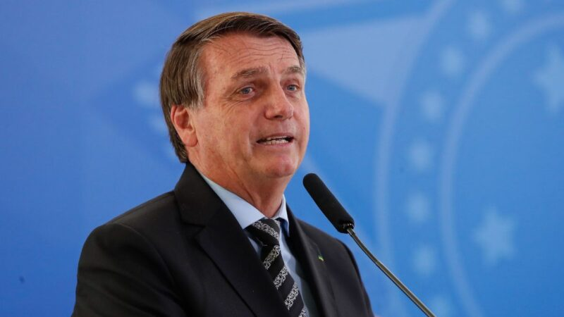 Presidente Bolsonaro testa negativo para a covid-19