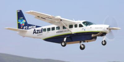 Azul (AZUL4) encomenda 10 aviões turboélice para expandir operação da Azul Conecta
