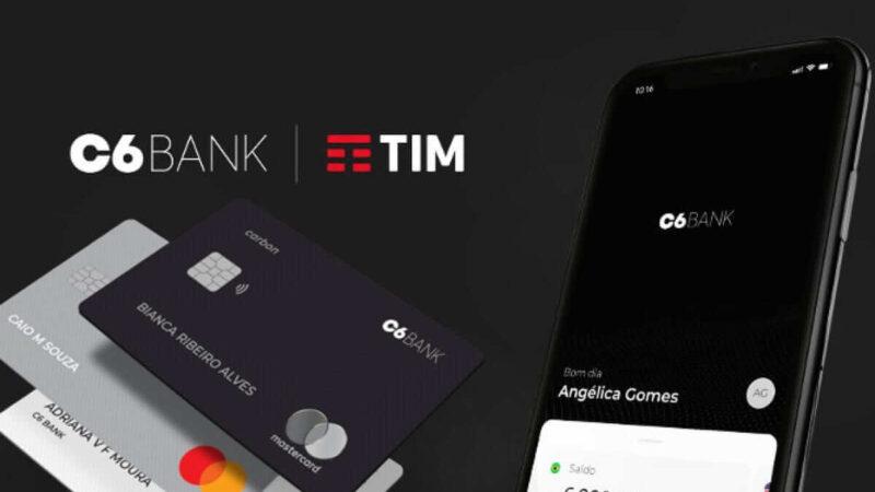 TIM (TIMS3) abre processo contra C6 Bank; parceria entre empresas está ameaçada