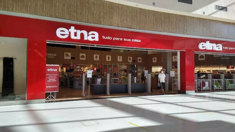 Etna fará leilão on-line de móveis, com 70% de desconto, no dia 8 de setembro